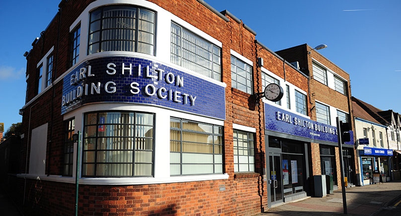 earl shiltons building from outside